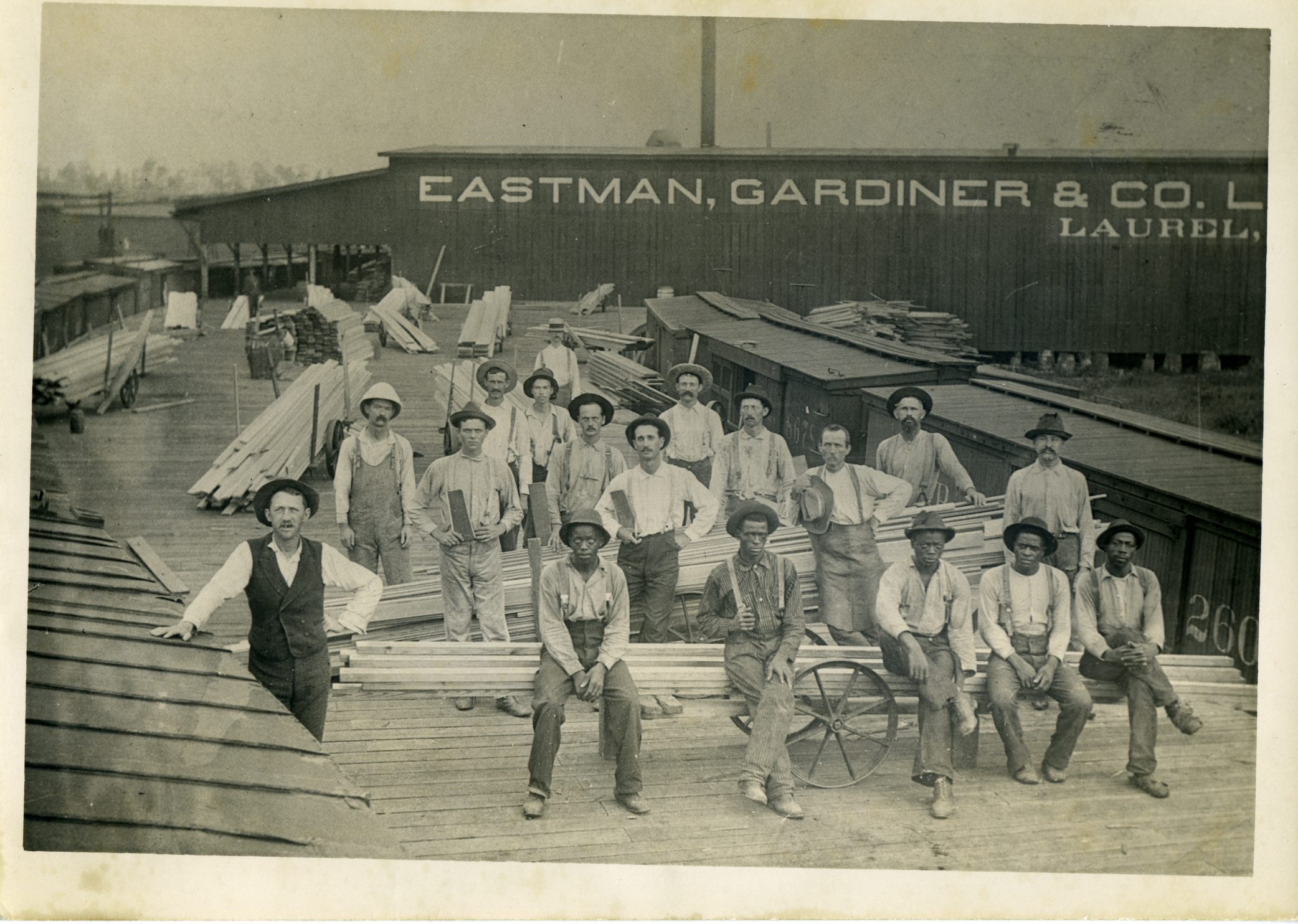 Eastman Gardiner Lumber Company Employees