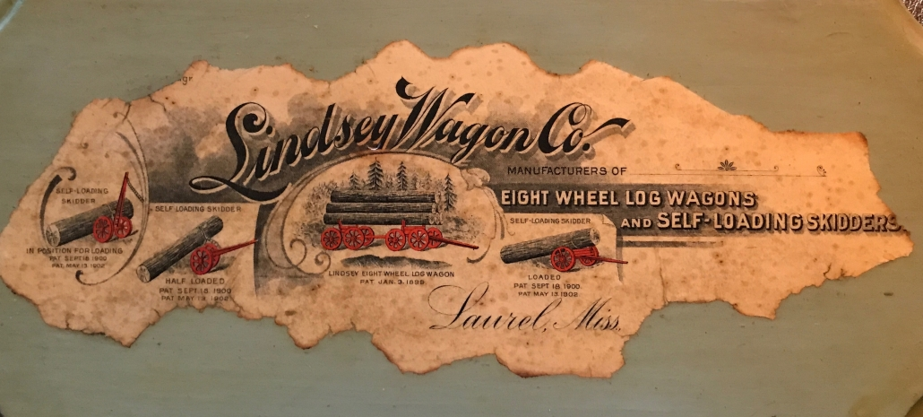 Original Lindsey Wagon Co. Ad