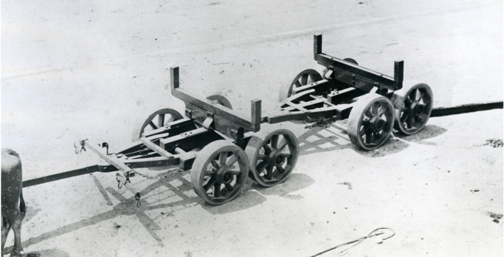 Lindsey Eight-Wheeled Wagon