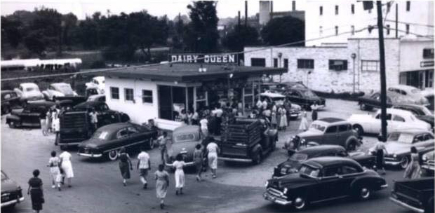 PDI's, formerly Dairy Queen, in the 1950s.