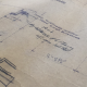 First Baptist Church, Laurel, MS, Sanctuary Architectural Plans, Detail Drawing with Construction Notations